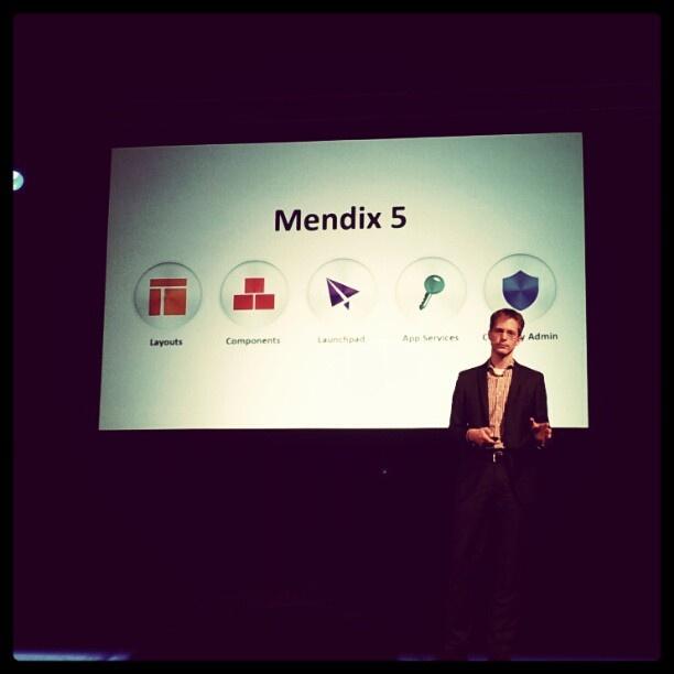 Johan Den Haan and Mendix 5 at Mendix World 2012