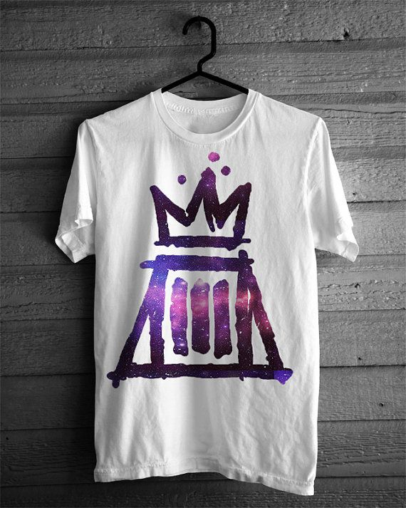 MONUMENTOUR Paramore Fall Out Boy Tour Logo Galaxy Tshirt