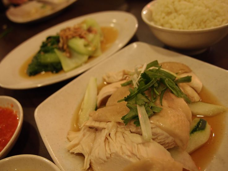 Chicken Rice @ Nam Heong, Mid Valley Megamall, 2014/1
