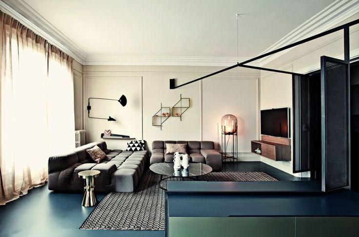 Il progetto di Andrea Marcante (fondatore di UdA architetti) ed Adelaide Testa in oggetto riguarda la ristrutturazione di un appartamento a Parigi di 180 mq per Isis Colombe Combréas, direttore ed editore delle riviste MilK e MilK Decoration e...