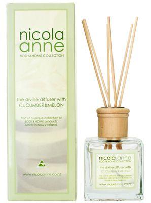 Nicola Anne Diffuser Set – Cucumber & Melon – Candles of New Zealand | Shop New Zealand NZ$ 48.90