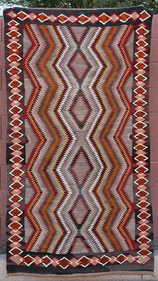 Red Mesa Navajo Rugs Runner