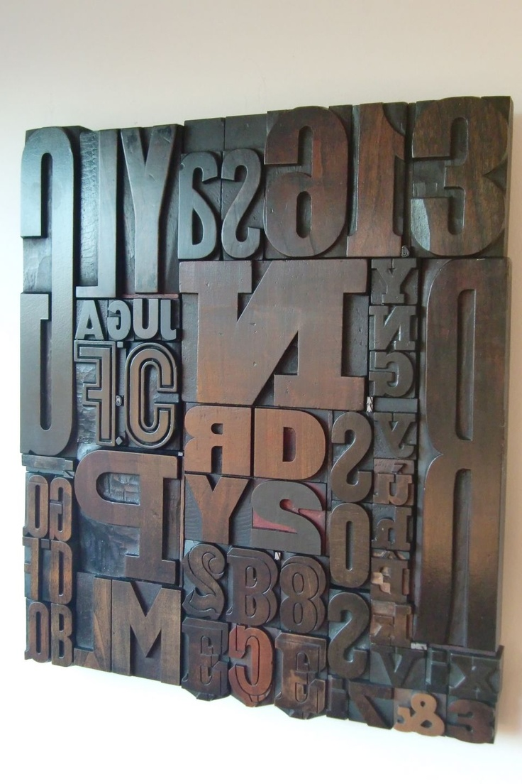 les 25 meilleures id es concernant lettres en bois sur. Black Bedroom Furniture Sets. Home Design Ideas