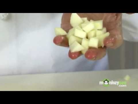 How To Chop An Apple - YouTube