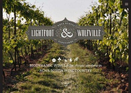 Lightfoot & Wolfville Vineyards | CSS Website