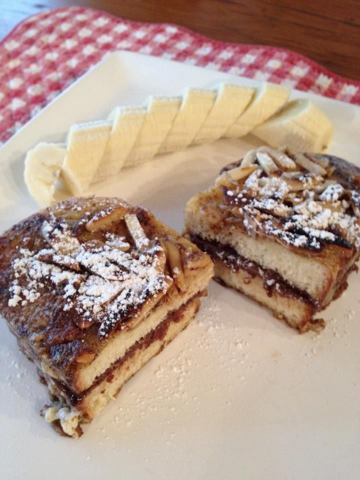 Nutella French toast | In the Kitchen | Pinterest