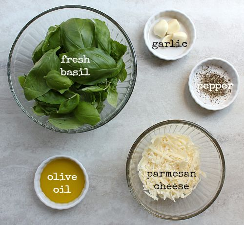simple basil pesto- just 5 simple ingredients! It will be prime basil ...