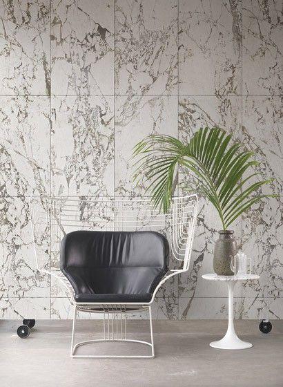 NLXL Tapete White Marble designt von Piet Hein Eek. #fototapete #stein #marmor