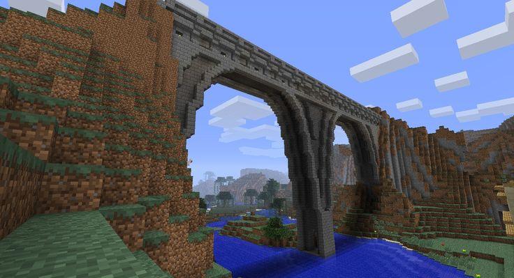Stone Bridge Minecraft Pinterest Internet Bridges