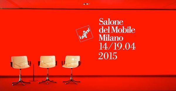 Salone del mobile 2015. #SaveTheDate #SaloneMilano