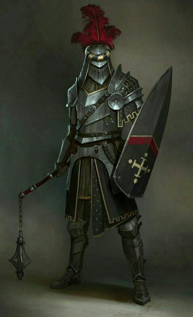 Fighter Knight - Pathfinder PFRPG DND D&D d20 fantasy