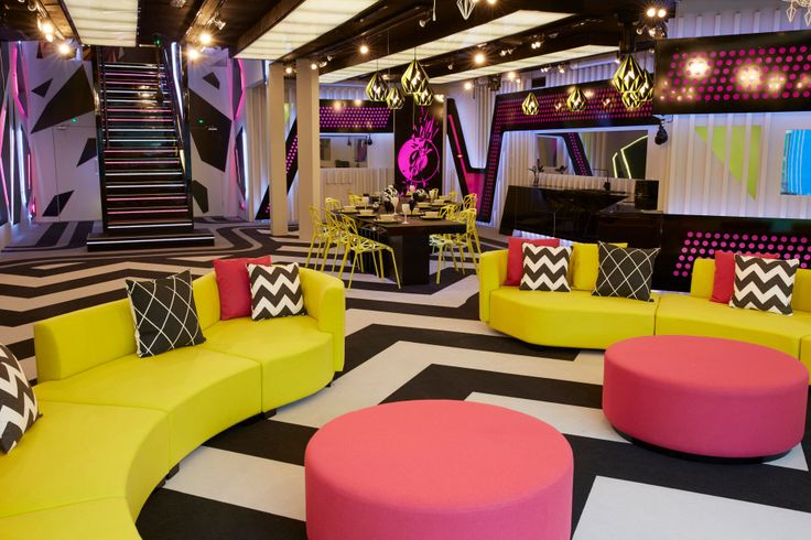 Celebrity big brother house decor