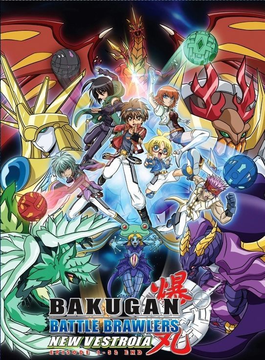 DVD ANIME BAKUGAN BATTLE BRAWLERS New Vestroia Season 2 Episode 1-52End English Audio / Region All / Free Shipping