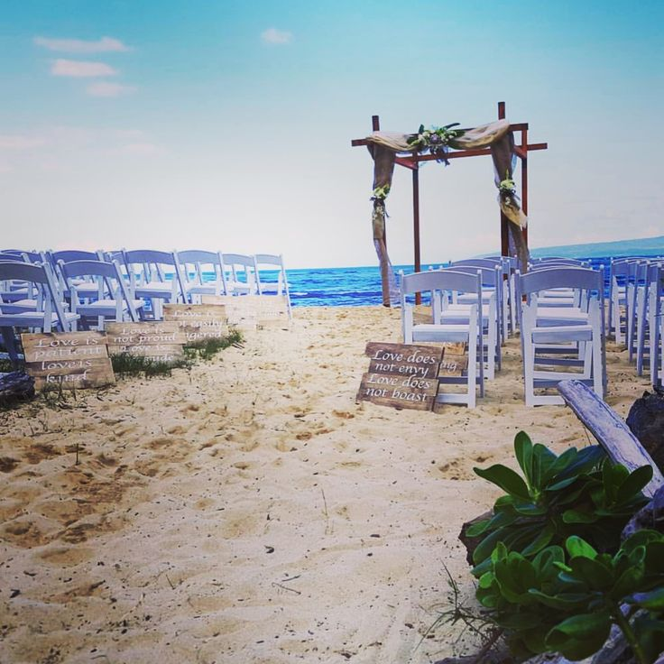 22 Best Beach Wedding Signs Images On Pinterest Beach Wedding