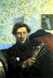 Umberto Boccioni - Autoportrait, 1905.