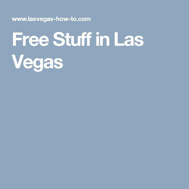 Free Stuff in Las Vegas