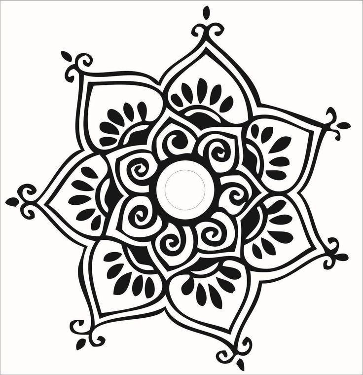 Mandalas Vinilos Decorativos - $ 40,00 en MercadoLibre