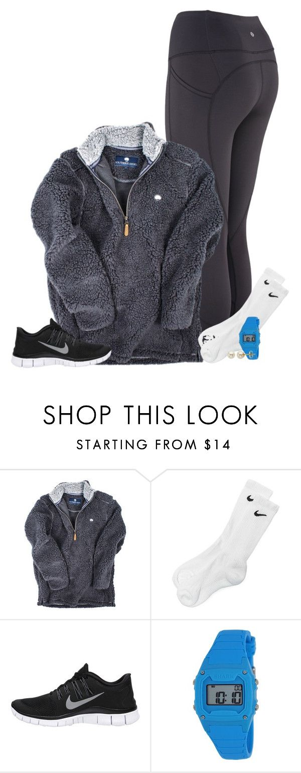 """""""shark watches ❤️❤️"""" by conleighh ❤ liked on Polyvore featuring NIKE, Freestyle and Lord & Taylor"""