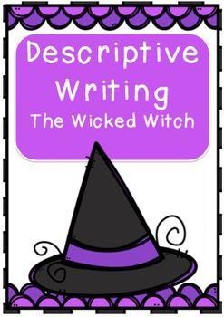 "At the end of this unit the children will complete a descriptive writing piece about being captured by Wicked Witch.This resource includes:The Wicked Witch - reading comprehension & activitiesVivid Vocabulary - worksheet for the children to record similes & vocabulary for use in the story.Witches have / Witches are.Show Don't TellWitchy CharacteristicsWicked Witch Acrostic PoemWriting Activity - ""Captured"""