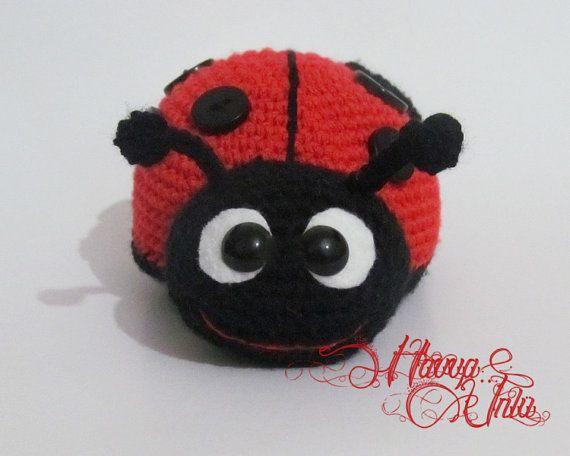 Amigurumi Ladybug : PATTERN - Ladybug (Crochet, Amigurumi)