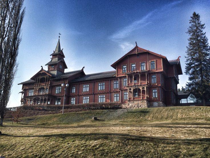 Hotell in Holmenkollåsen , Oslo ! Photo by @villatverrteigen