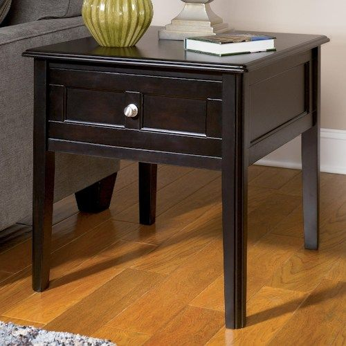 Signature Design By Ashley Henning Rectangular End Table With Drawer