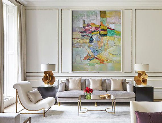 318 Best Art: In Living Spaces Images On Pinterest | Paintings, Abstract  Paintings And Abstract