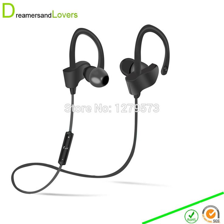 Dreamersandlovers Bluetooth Earbuds with Microphone, Comfortable Headphones with Noise Cancellation Up To 7 Hr Music Play Black