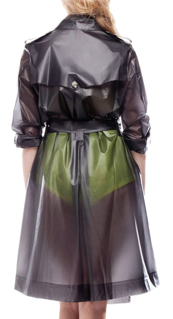 Designer Raincoats: Find Designer Raincoats at TerraNewYork — Trench coat water resistant, designer raincoat, rainwear, transparent trenchcoat