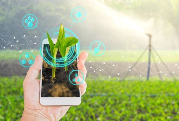 Smart Farming In Agriculture Sector Modern Agriculture Technology In Agriculture Gardening Apps