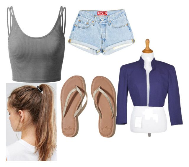 Untitled #55 by aniarkdk on Polyvore featuring polyvore, fashion, style, Doublju, L'Wren Scott, Hollister Co., NIKE and clothing