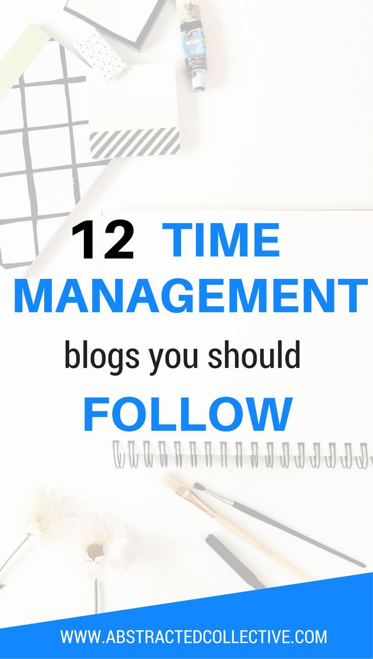 Need time management strategies, tools ideas and time management tips for your life? Here are 12 of the best time management blogs you should follow right now. You will be mastering time management in no time!