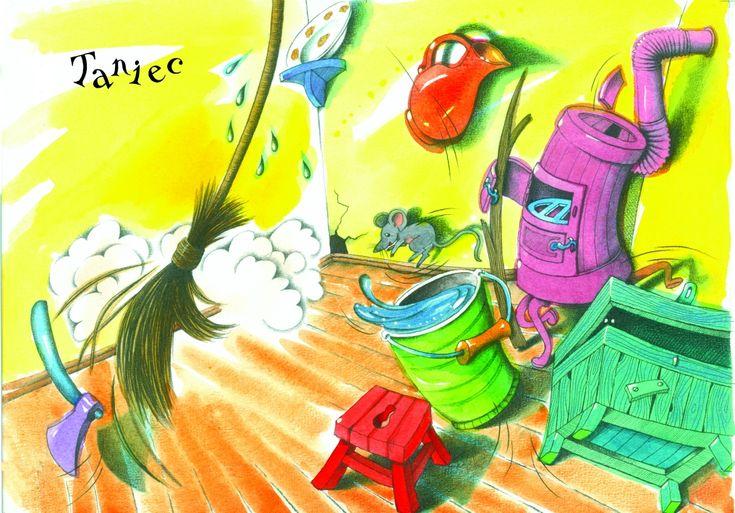 Jolanta Marcolla - ilustracje dla dzieci: Julian Tuwim 'Wiersze dla dzieci' - Taniec, 2010