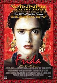 Frida Movie Poster 27x40 Used Antonio Banderas, Edward Norton, Felipe Fulop, Didi Conn, William Raymond, Benjamín Benítez, Saffron Burrows, Salma Hayek, Anthony Alvarez, Loló Navarro, Ashley Judd, Valeria Golino, Martha Claudia Moreno, Alfred Molina