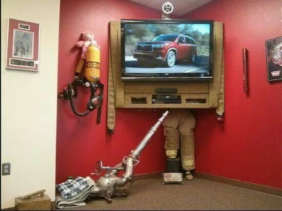 95 Best Firefighter Man Cave Images On Pinterest Fire