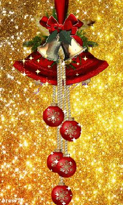 Christmas Animated ~ **Click on photo to see the bells move**