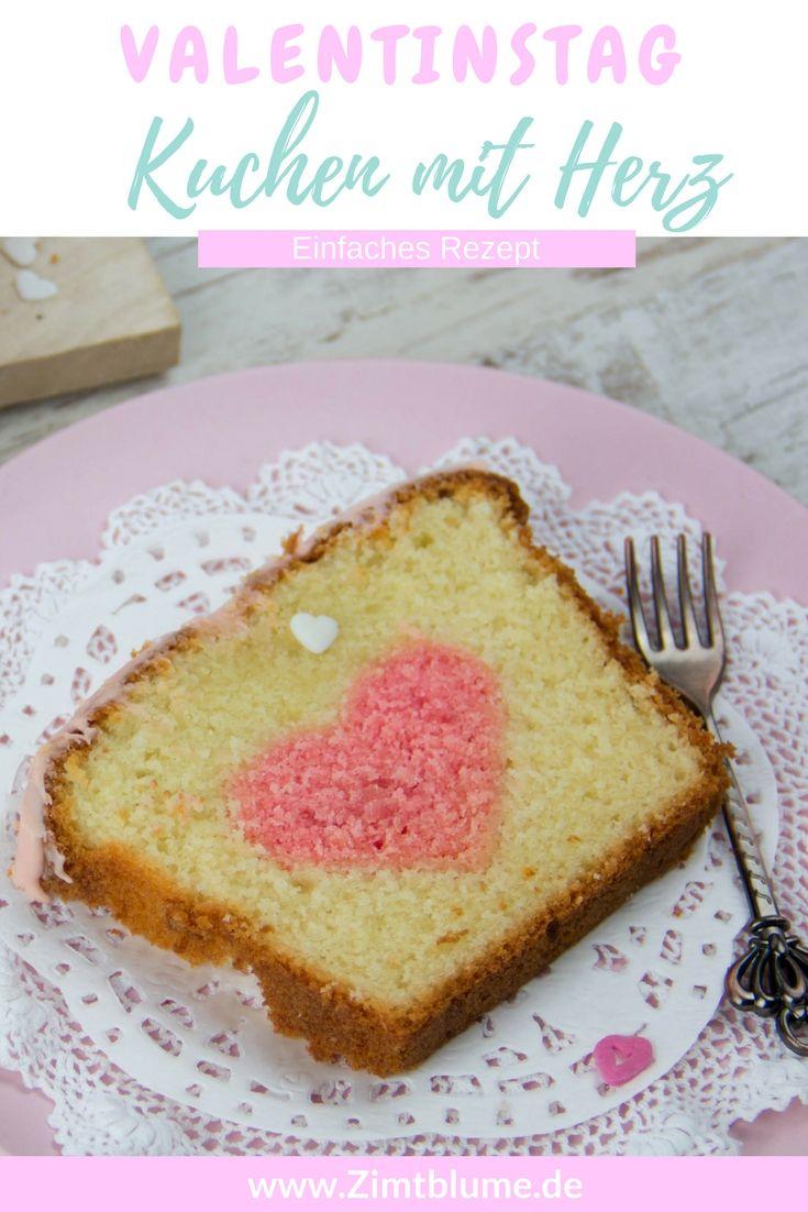 Kuchen Mit Herz Zum Valentinstag Rezept Kuchen Valentinstag Kuchen Und Kuchen Rezepte