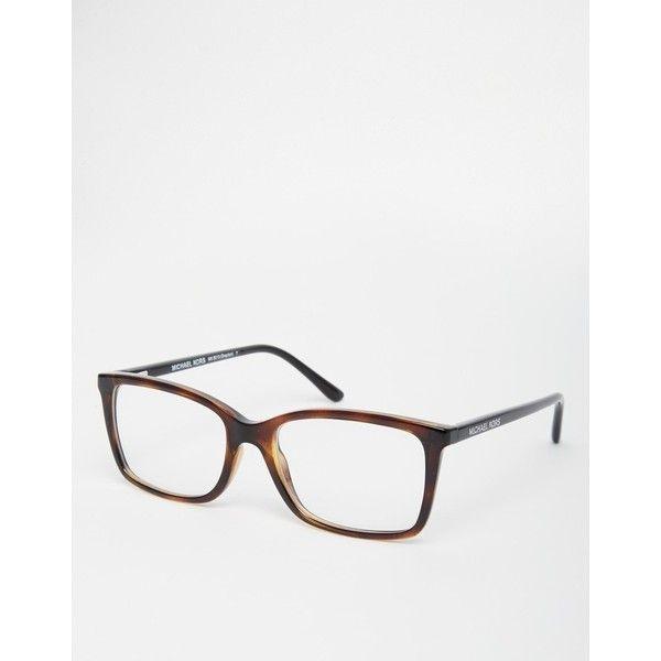Michael Kors Grayton Glasses (695 SAR) ❤ liked on Polyvore featuring accessories, eyewear, eyeglasses, tortoiseshell, michael kors eyewear, michael kors, clear eye glasses, clear eyeglasses and tortoiseshell eyeglasses