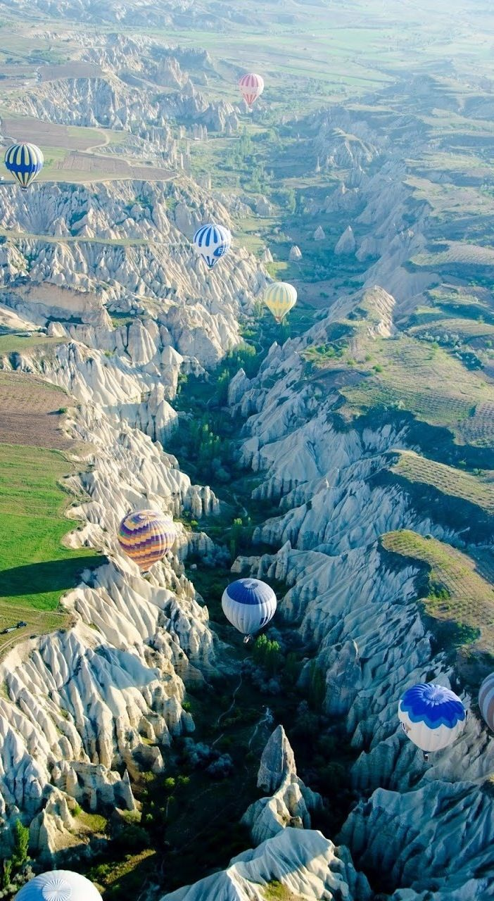 Cappadocia, Turkey. Balloon rides anyone