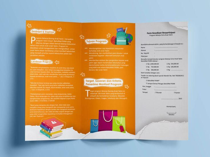 Trifold brochure zakat