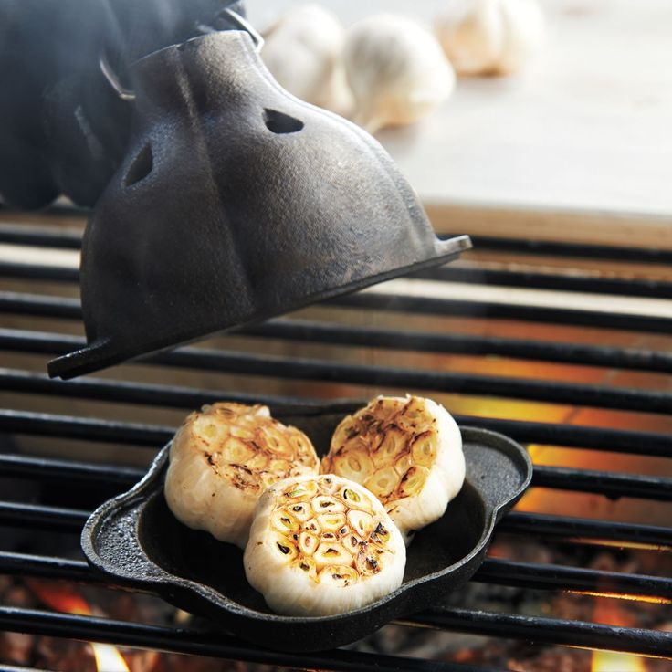 Sur La Table® Cast-Iron Garlic Roaster | Sur La Table