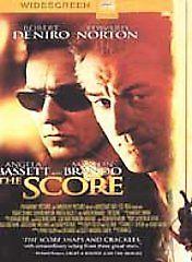 The Score (DVD, 2001, Widescreen) Robert Deniro / Edward Norton / Brand New #Paramount