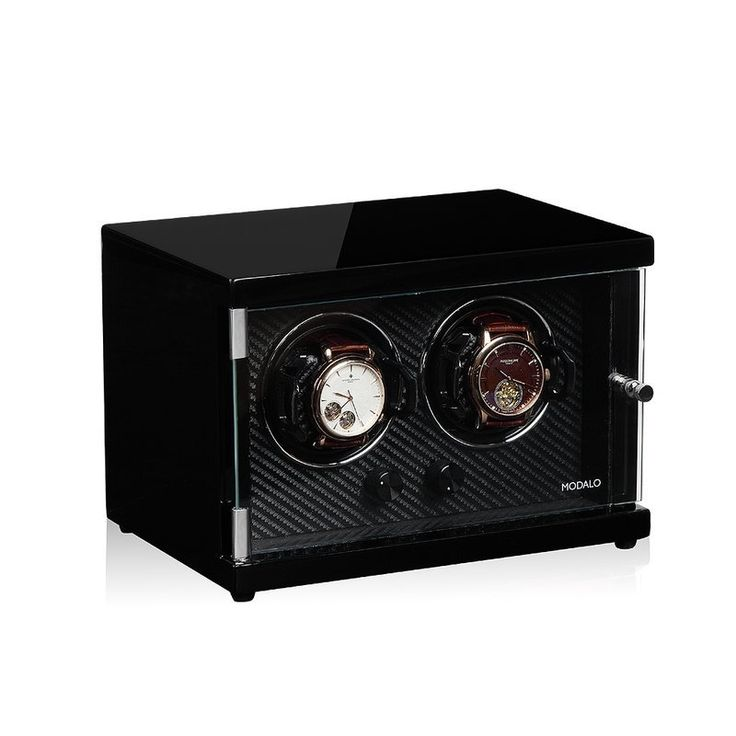Watchwinder van Modalo model Ambiente voor 2 automaten.