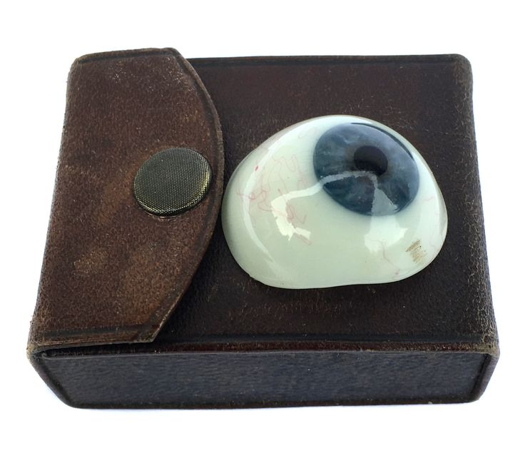 Vintage Glass Eye Ocular Prosthesis Artificial Eye Craniofacial Prosthesis Optometry Medical Scientific Surgery by BiminiCricket on Etsy