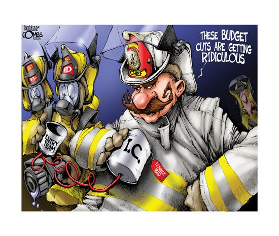 Paul Combs - Studio 7 good to see La City fire got their new budget they asked for.