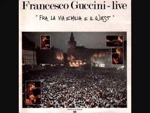 Francesco Guccini   La locomotiva live