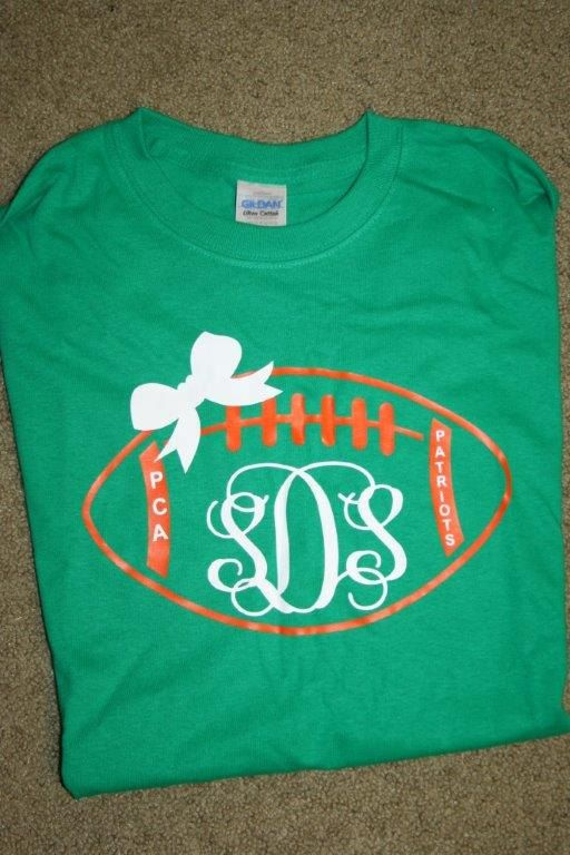 Customize your football team tshirts with your favorite for Custom t shirts costa mesa