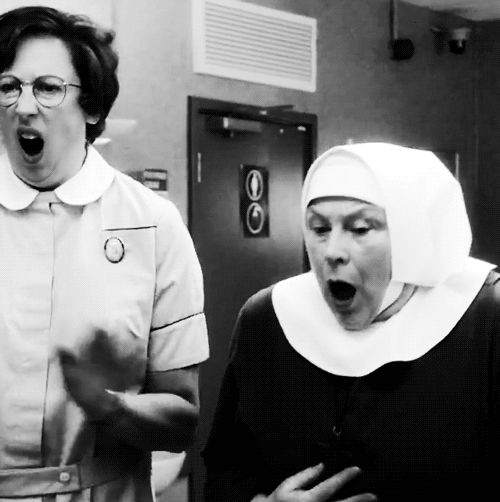I LOVE Chummy! She is the best. You must click if the GIF isn't playing. (Call the Midwife)