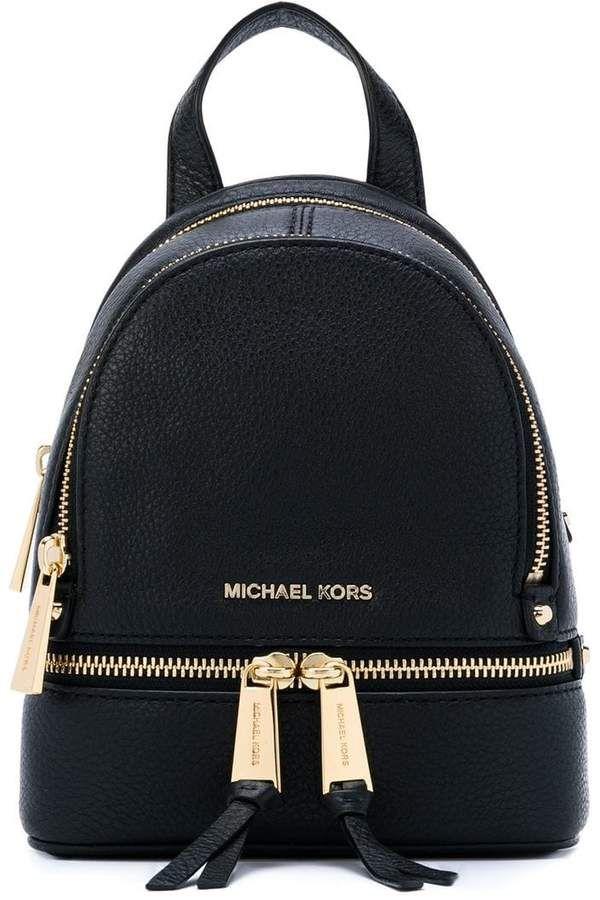 fa64e3ad45 MICHAEL Michael Kors Rhea mini backpack  backpacksinfashion2017 ...