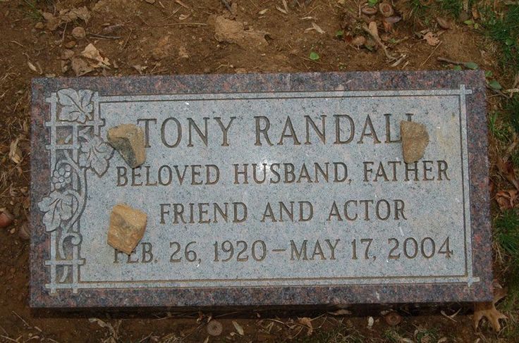"""Tony Randall (1920 - 2004) He played Felix on the TV series """"The Odd Couple"""", he also appeared in """"Pillow Talk"""", """"Will Success Spoil Rock Hunter?"""", """"The Mating Game"""" and other movies"""